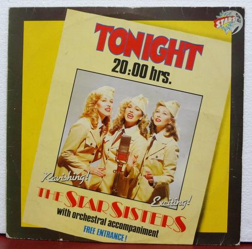 lp vinil - the star sisters - tonight - 20:00 hrs - 1983
