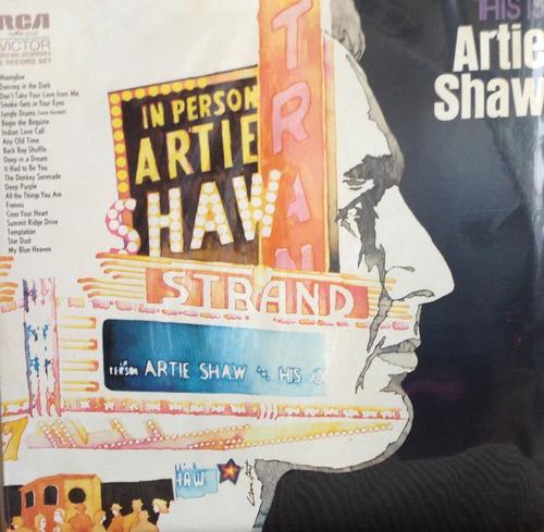 lp vinil - this is artie shaw - in person - duplo, importado