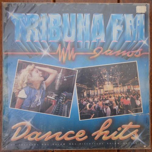 lp vinil - tribuna fm - dance hits - 1990