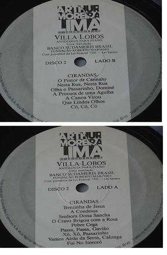lp vinil villa lobos album com 3 discos /