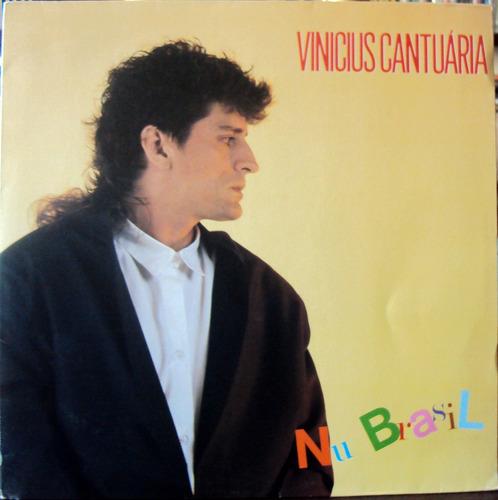 lp vinil - vinícius cantuária - nu brasil - 1986