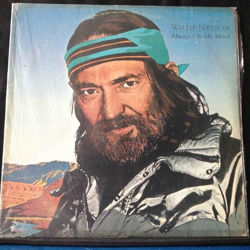 lp vinil willie nelson always on my mind 1982