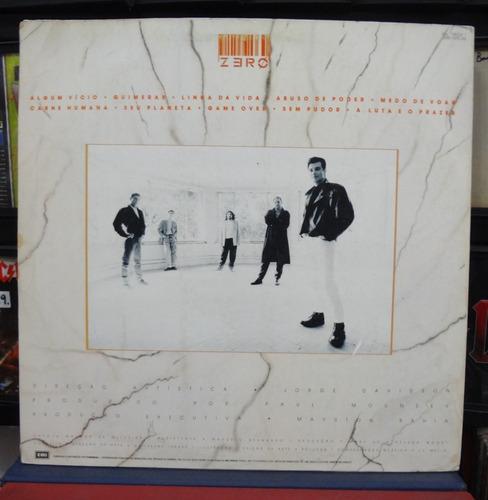 lp vinil - zero - carne humana - 1987