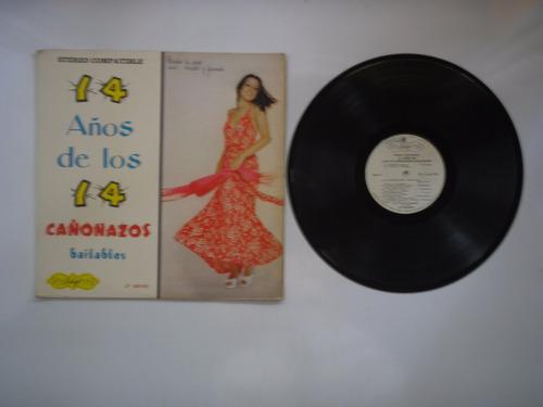 lp vinilo 14 cañonazos bailables volumen 14-1975
