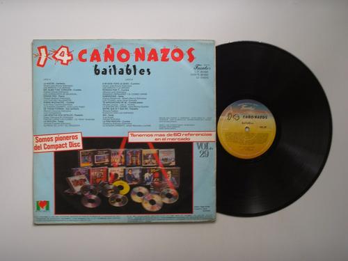 lp vinilo 14 cañonazos bailables volumen 29 1989