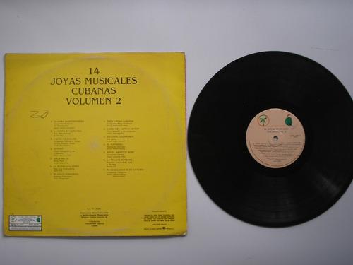 lp vinilo 14 joyas musicales cubanas volumen 2 prin-vene1985