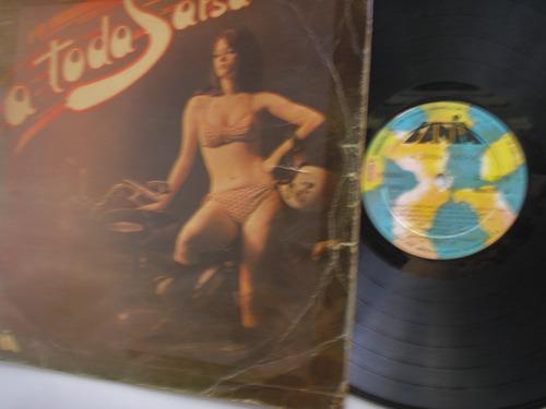 lp vinilo a toda salsa varios interpretes colombia 1975
