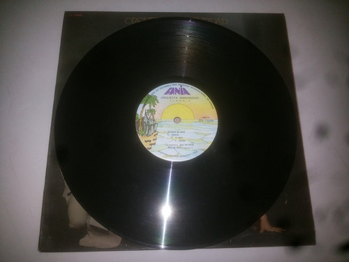 lp vinilo acetato disco orquesta inmensidad alegria salsa