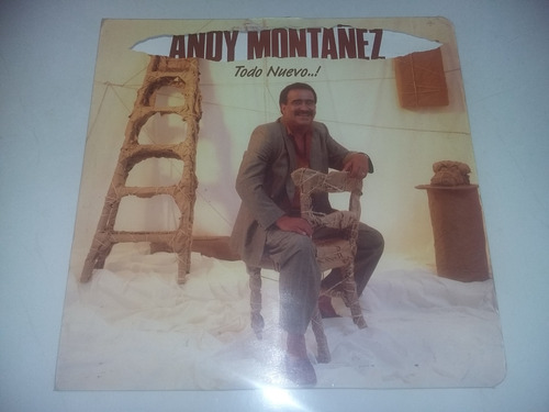 lp vinilo acetato disco vinyl andy montañez todo nuevo salsa