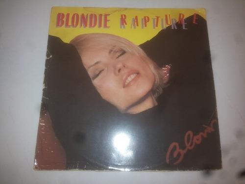 lp vinilo acetato disco vinyl blondie rapture