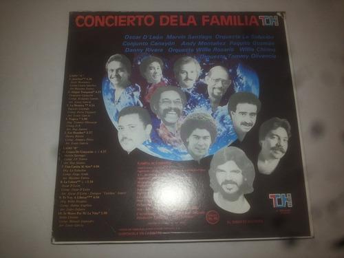 lp vinilo acetato disco vinyl concierto de la familia salsa