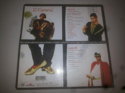 lp vinilo acetato disco vinyl el general es mundial