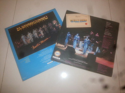 lp vinilo acetato disco vinyl el gran combo salsa