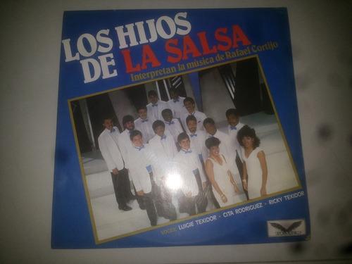 lp vinilo acetato disco vinyl los hijos de la salsa