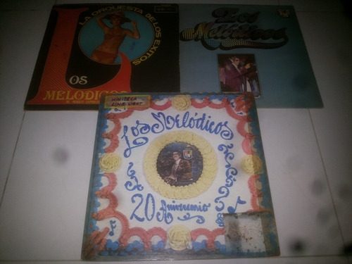 lp vinilo acetato disco vinyl los melodicos