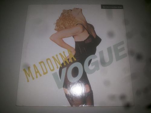 lp vinilo acetato disco vinyl madonna vogue