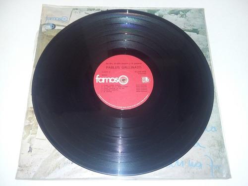lp vinilo acetato disco vinyl pablus gallinazus