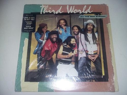 lp vinilo acetato disco vinyl third world all the way strong