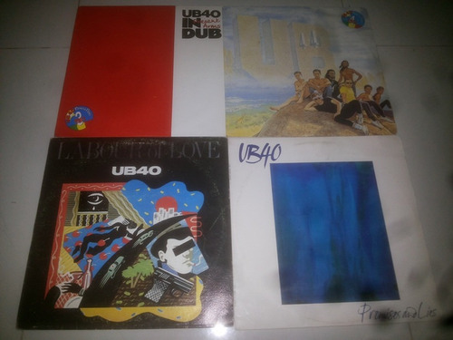 lp vinilo acetato disco vinyl ub 40