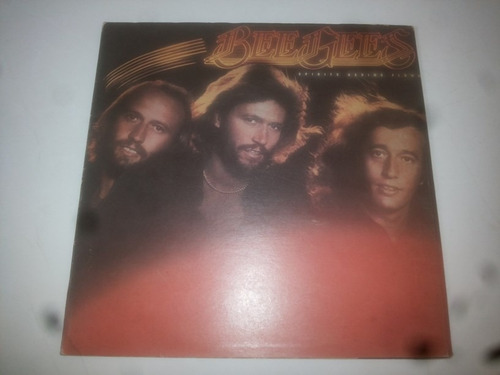 lp vinilo acetato discos bee gees spirits having flown