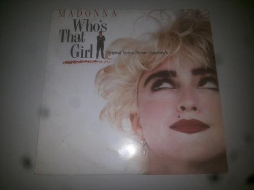 lp vinilo acetato discos vinyl madonna who's that girl