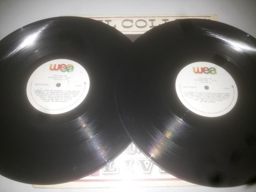 lp vinilo acetato discos vinyl phil collins serious hits...