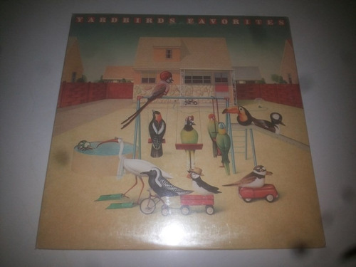 lp vinilo acetato discos vinyl yardbirds favorites