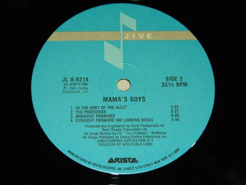 lp vinilo acetato mama's boys edición usa