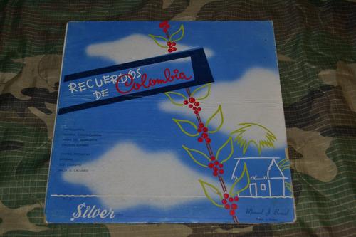 lp vinilo acetato música colombiana de colección . silver