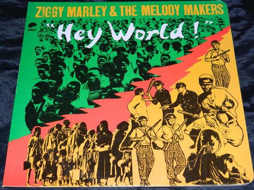 lp vinilo acetato ziggy marley hey world
