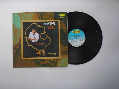 lp vinilo alex leon los leones de la salsa edic colomba 1996