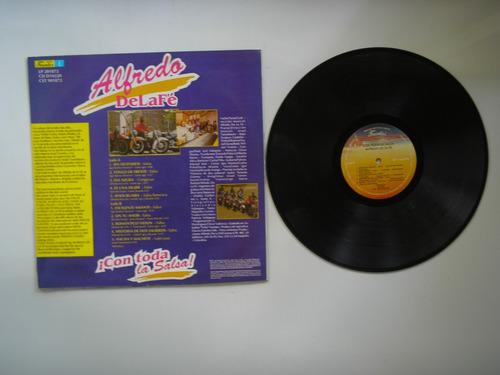 lp vinilo alfredo de la fe con toda la salsa colombia 1993