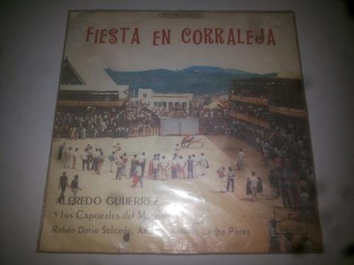 lp vinilo alfredo gutierrez y los caporales del magdalena