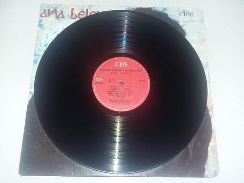 lp vinilo ana belén 26 grandes canciones y una nube blanca