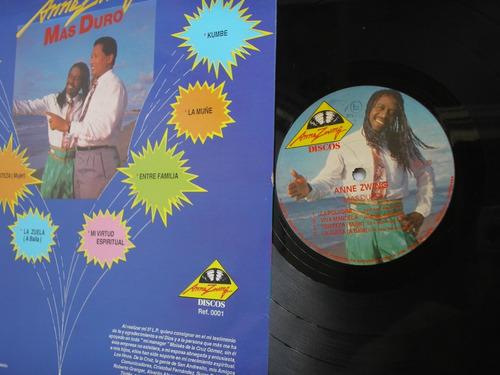 lp vinilo anne zwing mas duro  edic colombia 1991
