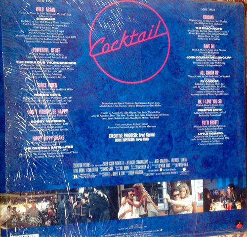 lp vinilo banda original  cocktail  importado usa 1988