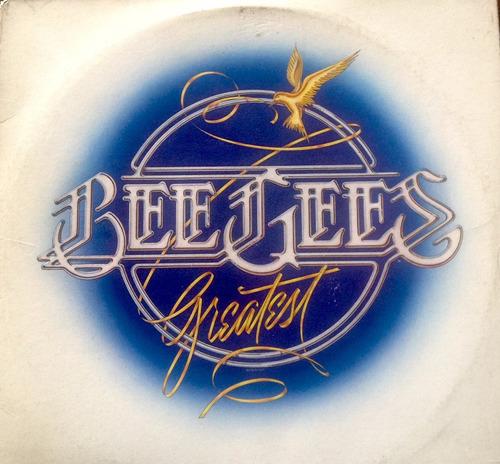 lp vinilo bee gees - greatest. album doble, importado usa