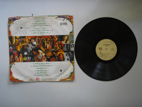 lp vinilo big mountain unity edicion colombia 1994