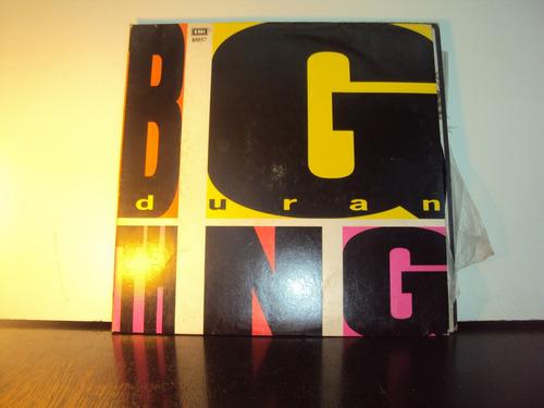 lp vinilo big thing duran duran 1988