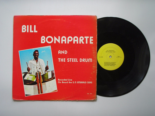 lp vinilo bill bonaparte and stell drum on board emeral seas