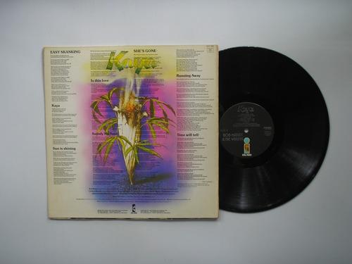 lp vinilo bob marley & the wailers kaya printed canada 1978