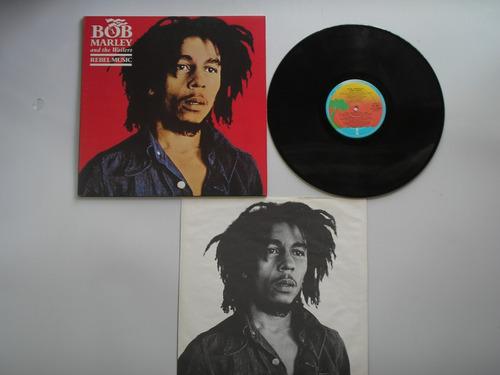 lp vinilo bob marley & the wailers rebel music p canada 1986
