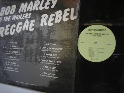 lp vinilo bob marley & the wailers reggae rebel  p usa 1984