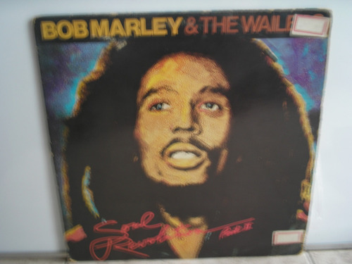 lp vinilo bob marley & the wailerssoulrevolutionii print-usa