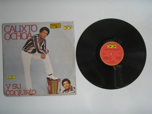 lp vinilo calixto ochoa y su conjunto top ten hits 1983