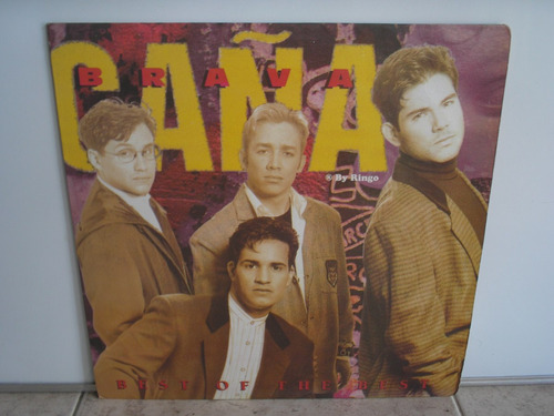 lp vinilo  caña brava best of the best 1994