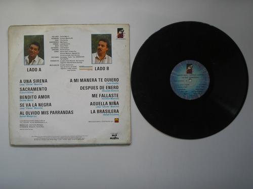 lp vinilo carlos malo gustavo maestre  duo sensacional 1990