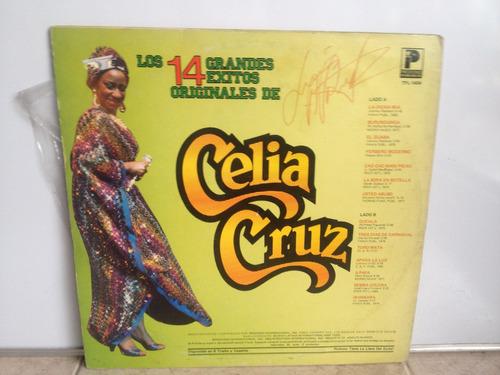 lp vinilo celia cruz 14 grandes éxitos printed usa 1983