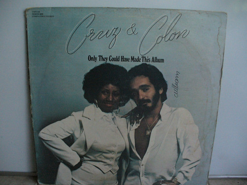 lp vinilo celia cruz y willie colon only they have made this