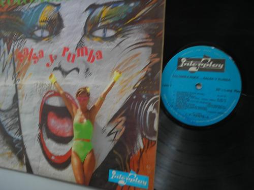 lp vinilo colombia rock salsa y rumba varios interprete 1985